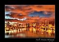 Picture Title - marina sunset