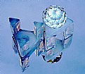 Picture Title - Glowing Blue Crystal