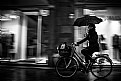 Picture Title - Rain and bike
