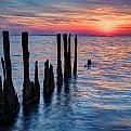 Sunset on the Nanticoke V