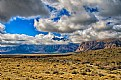 Picture Title - Hanging clouds in Red Rock Nevada