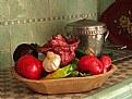 Picture Title - Papier Mache Vegetables