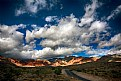 Picture Title - Clouds over Calico Basin