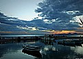Picture Title - sunset at the little harbor...