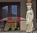 Picture Title - A Caryatid and a Circus Wagon