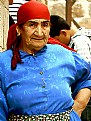 Picture Title - Lady in Blue and red