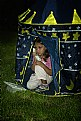 Picture Title - The girl in a tent