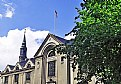 Picture Title - Flag & Building