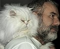 Picture Title - Cat on a shoulder