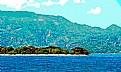 Picture Title - Sea, Island, Mountain, Sky