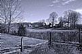 Picture Title - Farm in B&W