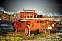 Picture Title - Orange Truck