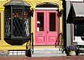 Picture Title - Pink & Yellow Storefront