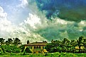 Picture Title - Clouds & House