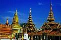 Picture Title - Temples & Blue Sky