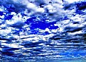 Picture Title - Clouds on Blue