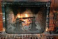 Picture Title - Fireplace with Fire