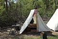 "Picture Title - ""Union Solider Tent"""