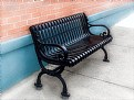 Picture Title - Black Bench