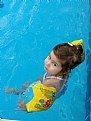 Picture Title - the child inside pool