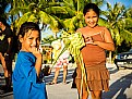 Picture Title - Children in Rangiroa