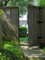 Picture Title - Gate to Back Yard
