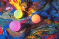 Picture Title - Glow Balls on Scarf