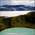Picture Title - crater lake, Askja, Iceland